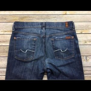 7 for all mankind high rise bootcut